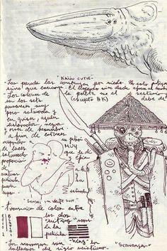 Pacific Rim, from Guillermo del Toro's sketchbook