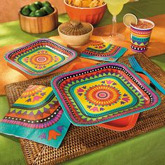 Bright Fiesta Party Supplies - OrientalTrading.com
