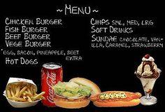 Mod The Sims - Fast Food Menu