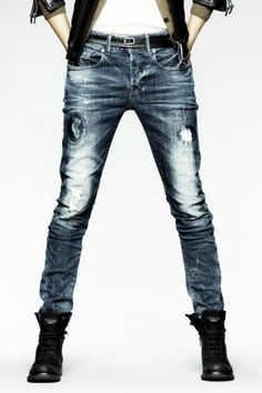 G-Star Raw Essential Cedar x Loose Tapered #distressed #denim #jeans