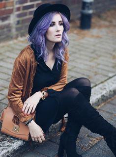 Fransenjacke, Overknees kombinieren, JustFab Review, Like A Riot, Mode Blog, Fashion Blog, Winterlook, Boho, Boho Style, Gypsy Style, Western Style