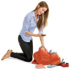 #Vacation packing made easy from Women's Health! #travel