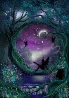 In the mystical world of faeries, the night fairy needs nothing but the light of the moon. Description from pinterest.com. I searched for this on bing.com/images