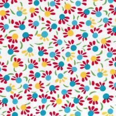 Petit Pan - fabric  // Iroquois blanc