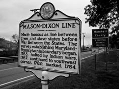 south of the Mason-Dixon!
