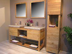 Ensemble meuble de salle de bain collection Cosy comprenant :