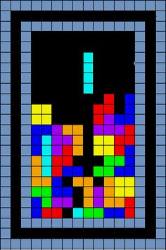 Tetris Quilt Pattern by EricTheQuilter on Etsy, $6.50