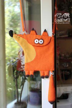 Купить или заказать Сумочка 'Лисичка' в интернет-магазине на Ярмарке Мастеров. Авторская сумочка для девочки - яркий аксессуар в гардеробе маленькой модницы.