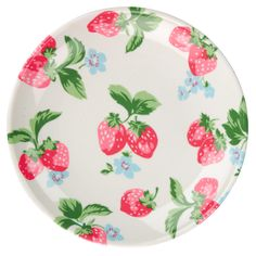 Game, set, match. Or at the very least matching strawberry plates for tea. #Wimbledon | Strawberry Plate | CathKidston
