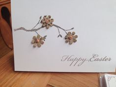 Couldn't find any Easter cards I liked so I had to make my own. Happy Easter