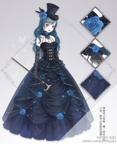 Anime girl | talk about goth...O_O no afence