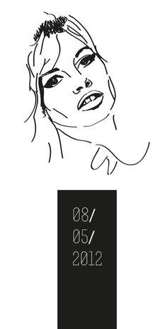 B.B. by Claudia Schembari, via Behance