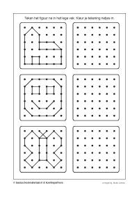 concentratie 1-01 Visual Perceptual Activities, Motor Skills Activities, Preschool Learning Activities, Preschool Activities, Kids Learning, Kids Math Worksheets, Math For Kids, Kids Education, Homeschool