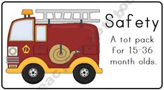Safety Tot Pack (free printables)