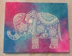 Elephant canvas                                                                                                                                                                                 Más