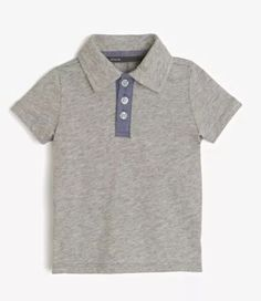 Vince Baby Boys Heather Steel Polo Shirt Sizes 12 18 24 Months $38 | eBay
