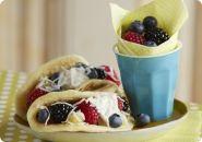 Pancake Berry Tacos