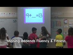 Missing Addends Fluency & Fitness will have students getting out of their seats to move, all while practicing their math facts and finding the missing addend. This is great for a brain break, math time, transitions, indoor recess, etc.