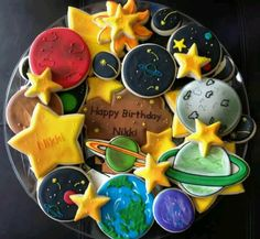 Out of this world Space cookies!