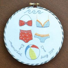 (10) Name: 'Embroidery : Bikini Monday