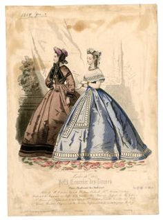 Women 1864, Plate 021 :: Costume Institute Fashion Plates