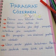 Learn Turkish, Study Notes, Study Motivation, Study Tips, It Works, How To Apply, Classroom, How To Plan, Education