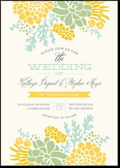 Khen and Zach, what about this one? this one is from Wedding paper divas. let me know....