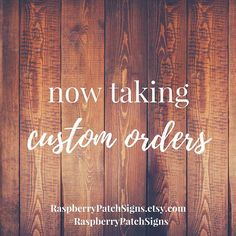Raspberry Patch Sings (that's me and Jeremy in case you didn't know) is taking a limited number of custom orders during the holiday season. If you are needing a custom piece done in time for Christmas please place your orders before the following dates: Items requiring shipment --> order no later than (NLT) 11/13 --> it will ship NLT 12/1 Items being picked locally --> order NLT 11/20 --> will be ready for pick-up NLT 12/11