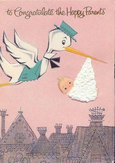 Stork Express - vintage
