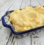 Het recept voor deze heerlijke zelfgemaakte romige aardappelpuree staat op mijn blog Homemade by Joke.