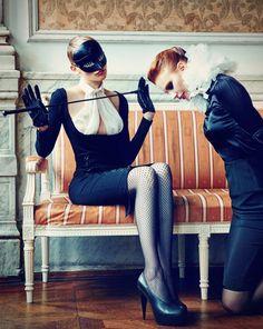 Nina Reijnders & Victoria Lipatova by Koray Parlak for Marie Claire Turkey