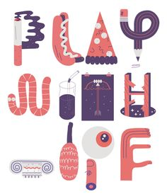 'Play with Type' – a fun gif byJose Mendez that'sdefinitelyinspired us to startplaying around with some new type ideas. Got a project that you'd like to share with us? Send it to wrapsubmissions@gmail.com – we'd love to hear from you.