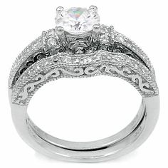 diamonique engagement rings qvc 48 - Diamonique Wedding Rings