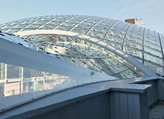 Trinity Leeds Shopping Centre - ETFE in-fill panel for architectural glass roof