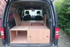 DIY VW Caddy Maxi Camper : 8 Steps (with Pictures) - Instructables Minivan Camper Conversion, Car Camper, Mini Camper, Camping Box, Minivan Camping, Berlingo Camper, Sleep Box, Vw Caddy Maxi, Volkswagen Caddy