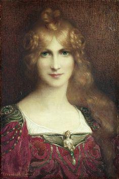 Elisabeth Sonrel - French painter - (B.1874, Tours, France - D. 1953,Sceaux, France) -
