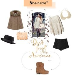 """""""don't forget to be awesome"""" by loukiaa ❤ liked on Polyvore"""