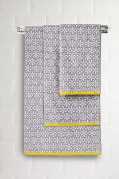 Floral Geo Jacquard Towels from Next
