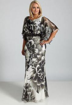 Plus size silk cocktail dresses - Fashion dresses Plus Size Gowns, Plus Size Party Dresses, Evening Dresses Plus Size, Curvy Girl Fashion, Plus Size Fashion, Look Plus Size, Gowns Of Elegance, Yes To The Dress, Mullets