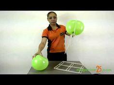 Como Fazer Parede de Balões (Magazine 25) - YouTube #tutorial #comofazer #passoapasso #dica #festa #decoracao #parededebaloes
