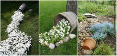 Ha van otthon néhány virágcsereped, tedd velük hangulatossá a kerted!