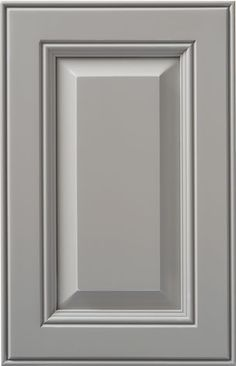 © Haas Cabinet Co CLASSIC PAINT: Industrial Grey, shown on Maple