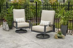 Cast Ash Lyndale Highback Swivel Rocking Chairs   The Outdoor Greatroom Company