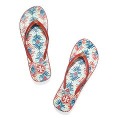 aa5a99764 Acai Red-oasis Revised Combo A Tory Burch Thandie Wedge Flip-flop