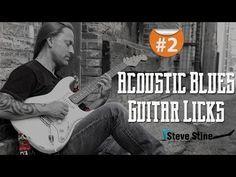 Steve Stine Guitar Lesson - Simple but Effective Acoustic Blues Guitar Licks part 2 - YouTube