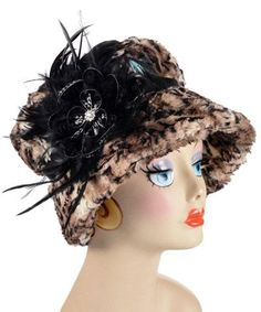 09934d112f6 Molly Hat Style - Luxury Faux Fur in Carpathian Lynx