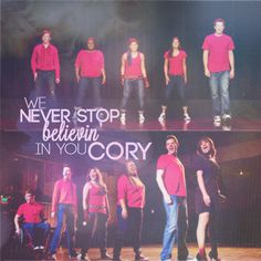 R.I.P loved glee from season one bc of your character we miss and love you