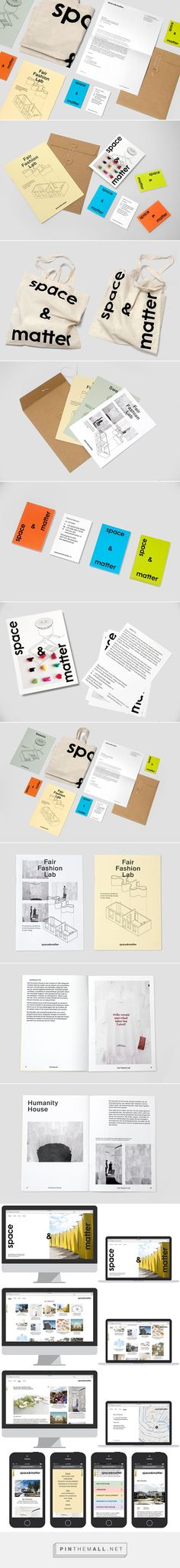 space&matter Visual Identity by Mark Bain
