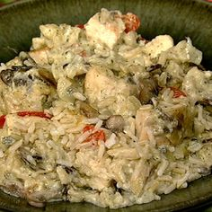Trisha Yearwood/Chicken-Wild Rice-Casserole