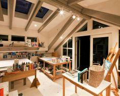 Artist Studio Design Ideas | Art Studio Design, Pictures, Remodel, Decor and Ideas - ... | Art Stu ...